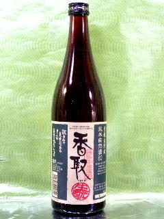 香取 純米自然酒80 720ml
