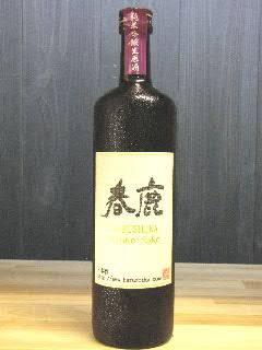 春鹿 木桶仕込 純米吟醸生原酒 29BY 720ml