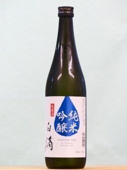 白滴 純米吟醸 生原酒 720ml