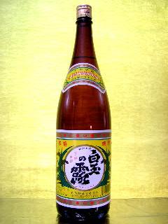 白玉の露 芋焼酎 25度 1.8L