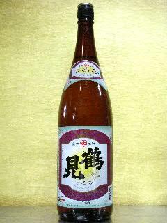鶴見 芋焼酎 25度 1.8L