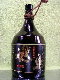 黒 燃島 芋焼酎 25度 1.8L