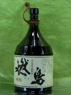 燃島 芋焼酎 25度 1.8L