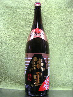 薩摩の薫 純黒 芋焼酎 25度 1.8L