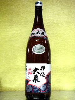 伊佐大泉 芋焼酎 25度 1.8L