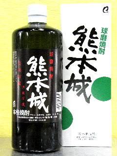 熊本城 長期樽貯蔵 球磨焼酎 35度 720ml