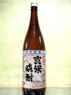 大浦の玄米焼酎 25度 1.8L