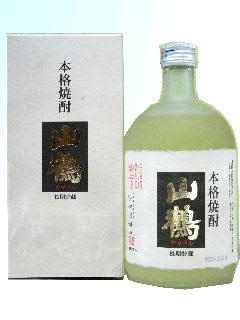 山鶴 樫樽熟成 吟醸粕取焼酎 25度 720ml
