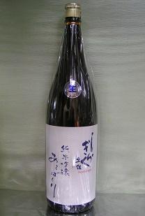土佐しらぎく 純米吟醸 八反錦 あらばしり生 1.8L