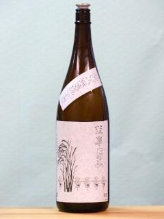 篠峯 伊勢錦 純米 うすにごり無濾過生酒 30BY 1.8L