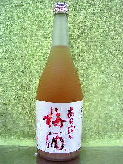 梅乃宿のあらごし梅酒 720ml