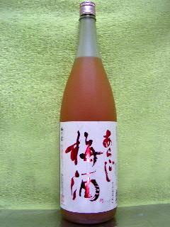 梅乃宿のあらごし梅酒 1.8L