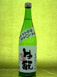 梅乃宿 特別純米生もと仕込無濾過生原酒 30BY 720ml