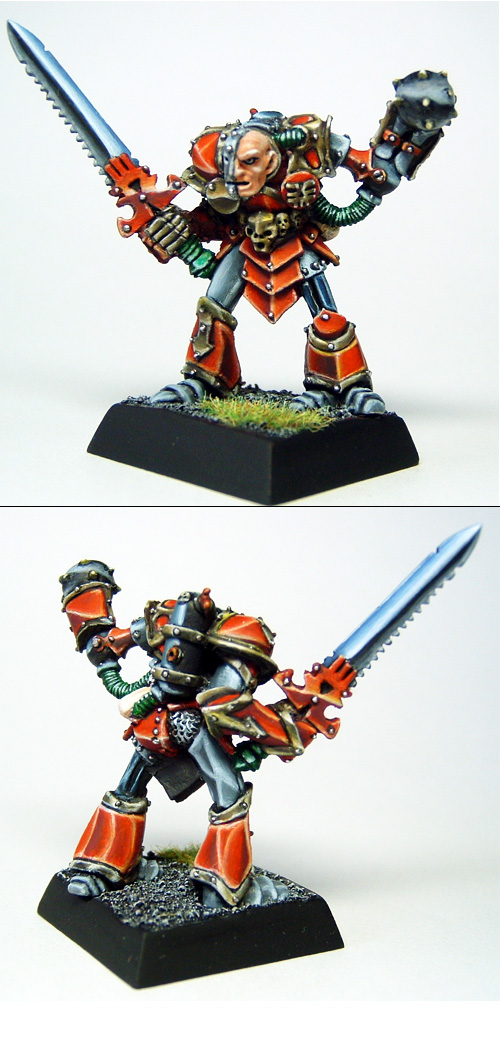 Gurni Ironarm, Chaos Champion of Khorne